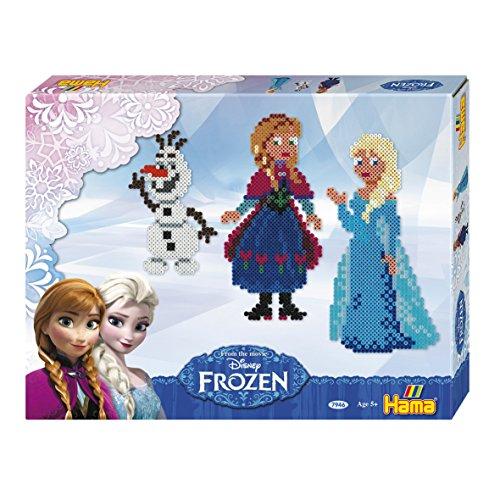 Hama Frozen - Die Eiskönigin - 4000 Bügelperlen, 2 Stiftplatten und Zubehör für 7,20€ mit [Amazon Prime]