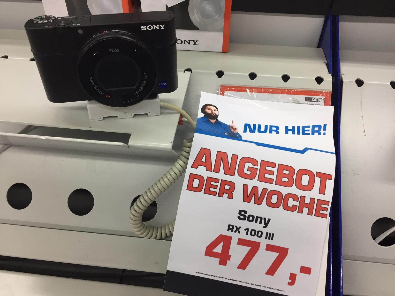 [lokal Magdeburg] Sony RX100 III Kompaktkamera zum Bestpreis