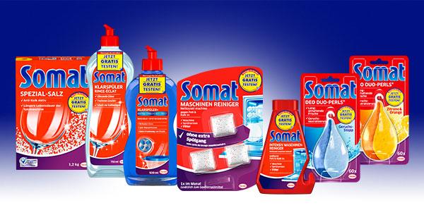 Gratis testen! Somat Zusatzprodukte - bis zu drei Stück - ab 1.7.2017 [GZG]