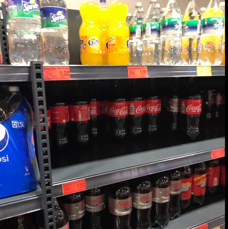 2 l Cola, Fanta, Sprite für 1 € bei Edeka (Offline Hamburg Niedersachsen Schleswig Holstein)