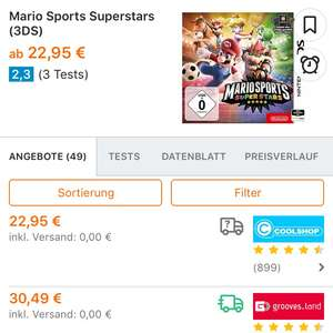 Mario Sports Superstars 3ds + 1 amiibo Karte