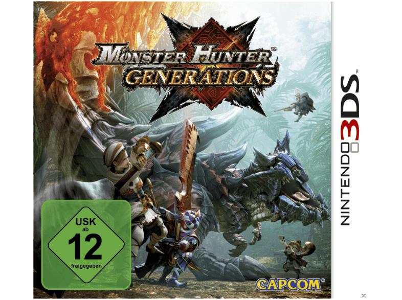 Monster Hunter Generations [Nintendo 3DS] für 16,98 € bzw. 14,99 € bei Lieferung in den Markt [Saturn.de]