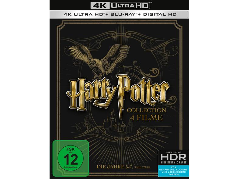 Harry Potter (Jahre 5-7B) auf 4K Ultra HD Blu-Ray @ Media Markt (versandkostenfrei!)