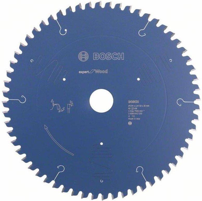 [AMAZON PRIME] Bosch Kreissägeblatt Expert for Wood 254 x 30 x 2.4 mm Z60T