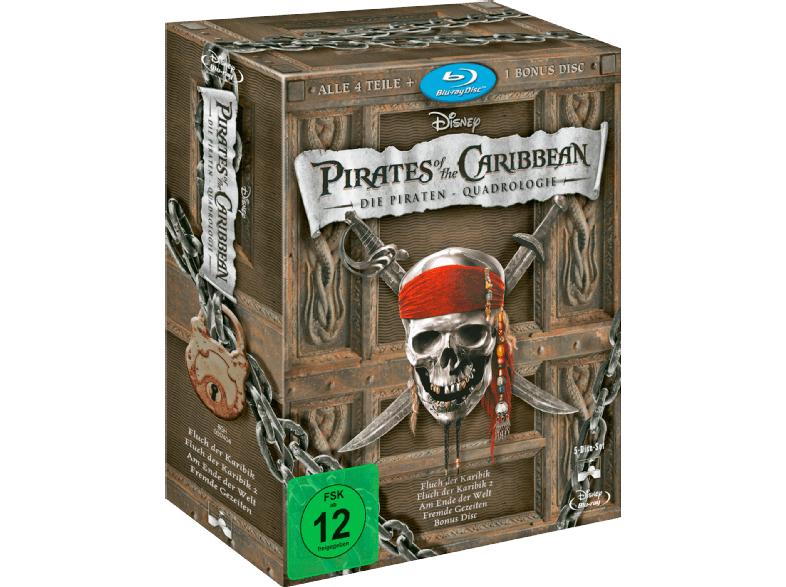 [Lokal Berlin/Potsdam] Fluch der Karibik / Pirates of the Caribbean Quadrologie (1-4) (Blu-ray) @Media-Markt