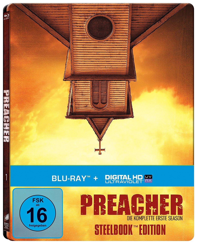 Preacher - Die komplette erste Season (Steelbook) (Blu-ray) für 11€ versandkostenfrei (Media Markt)