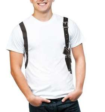 T-Shirts aus 100% Baumwolle mit Krimimotiven für Damen & Herren für 2,99€ - versandkostenfrei bis zum 3. Juli
