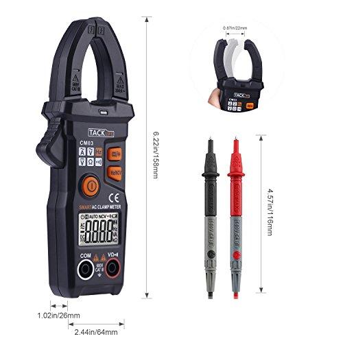 [Amazon] Tacklife CM03 - Digitaler Multimeter mit Strommesszange (AC/DC)