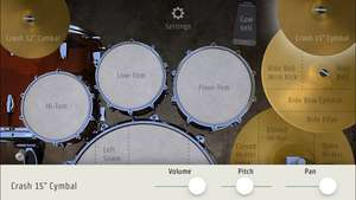 [iOS] DrumKick - virtuelles Schlagzeug kostenlos statt 5,49€