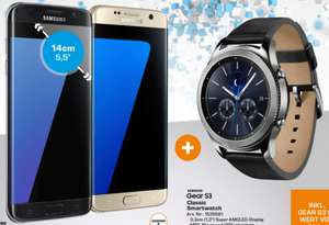 Saturn Linz: Galaxy S7 Edge + Gear S3 Classic für 499€