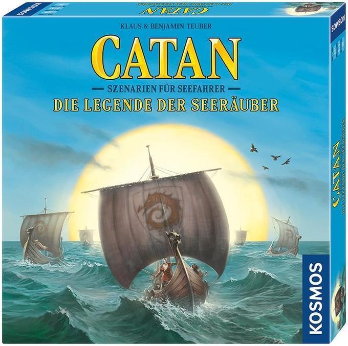 [Hugendubel] Die Siedler von CATAN - die Legenden der Seeräuber Erweiterung Szenarien für 16,99+Füllartikel