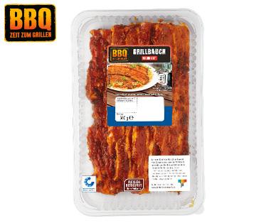 BBQ  Grillbauchscheiben bei Aldi für 1,99 € statt 2,79 €