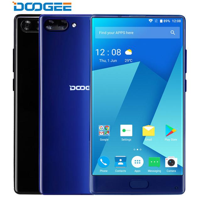 DOOGEE MIX 5.5″ 4/6GB+64GB OCTA Core Android 7.0 Smartphone + GRATIS Zubehör