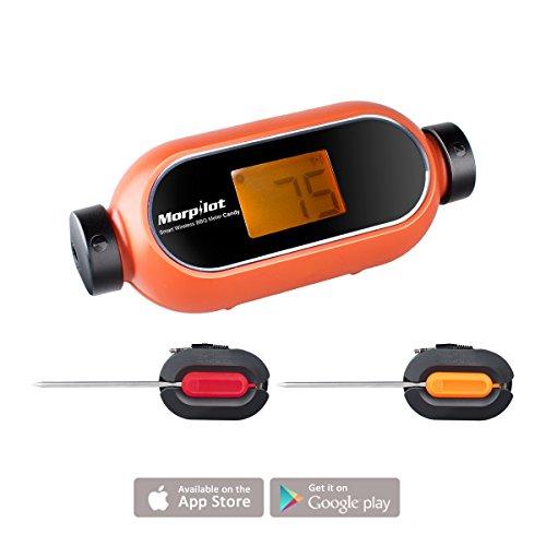 Grillthermometer mit Bluetooth, 2 Sonden und App für 28€ Amazon