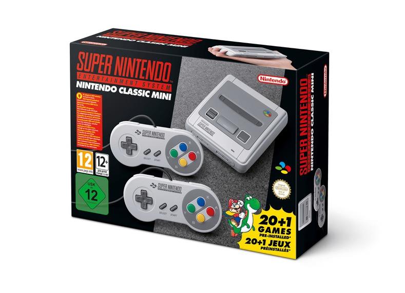 Nintendo Super Nintendo Entertainment Classic Mini für ~84€ (Schweiz)