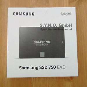 Samsung SSD 750 EVO 250GB Neu/OVP + Rechnung + Garantie