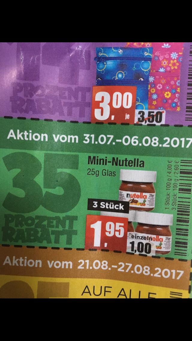 Mini Nutella