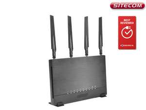 [iBOOD] Sitecom WLR-9500 Dual-Band-Router | WLAN-AC2600-Router | PVG 174,46 €