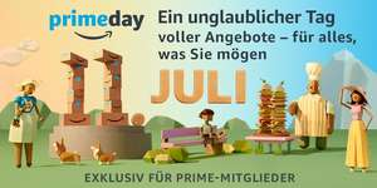 Vorabinfo Amazon Primeday am 11. Juli