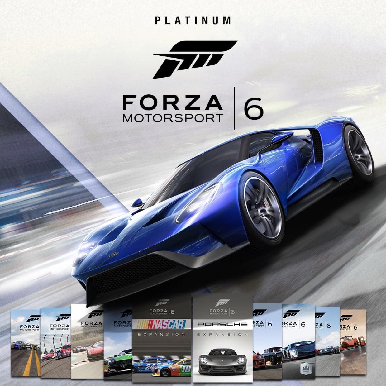 [Xbox One] Forza Motorsport 6 Platinum Edition-Bundle mit 75% Rabatt für Gold-Mitglieder