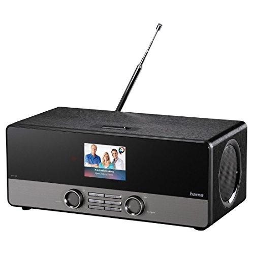 [Amazon] Hama Internetradio Digitalradio DIR3100M (WLAN/LAN/DAB+/DAB/FM, 2,8 Zoll Farbdisplay, Fernbedienung, USB-Anschluss mit Lade- und Wiedergabefunktion, Weck- und Wifi-Streamingfunktion, Multiroom, gratis Radio App), schwarz oder weiß