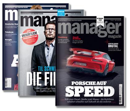 """3 Ausgaben manager magazin + ABUS-Schloss """"Bordo X-Plus 6500/85"""" (PVG 72€ für das Schloss und 18€ für die Hefte) für zusammen 18,90 € statt 90€"""