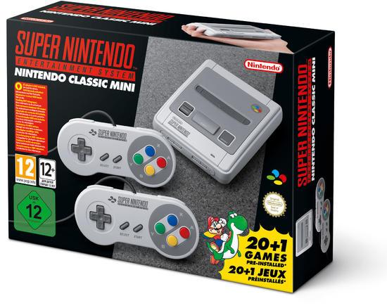 Nintendo Classic Mini: Super Nintendo Entertainment System [Gamestop]