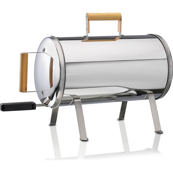 [Plus] Melissa Tisch-Räucherofen Elektrischer Smoker Grill zum Räuchern Räucher-Ofen mit Grill-Rost Räuchergrill elektrisch