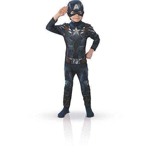 RUBIE'S Marvel - Kinderkostüm Captain America (Größe 3-4 Jahre) für 8,33€ [AMAZON PRIME]