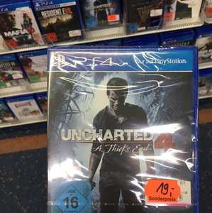 [Lokal Saturn Weimar] Uncharted 4 - A Thief's End PS4 19€