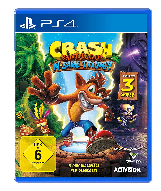 (Nur im Laden) Crash Bandicoot N. Sane Trilogy für 31,99€ (20% Rabatt auf Games bei Müller)