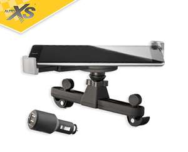 Aldi Süd KFZ Tablet Halterung Halter 4,99€ inkl. 2x USB Adapter 2,1A/1A