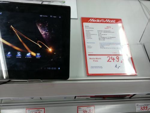 [ MM Stuttgart] sony sgpt 111 de S.g4-tablet 16 GB für 249 euro- 32 GB für 299euro