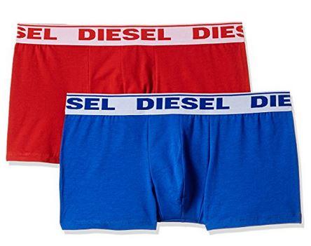 [Amazon Prime] 2er Pack Diesel Boxershorts in rot/blau oder Multicolor  #nicht alle Größen#