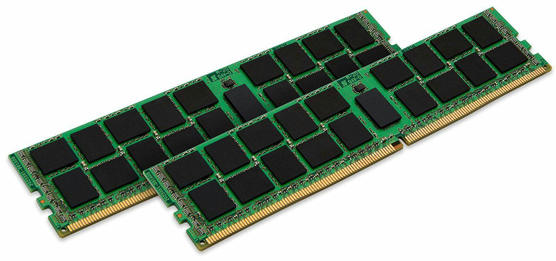 32GB (2x16GB) RAM-Kit Kingston KVR21E15D8K2/32 DDR4-2133, PC4-17000E ECC [Amazon.fr]