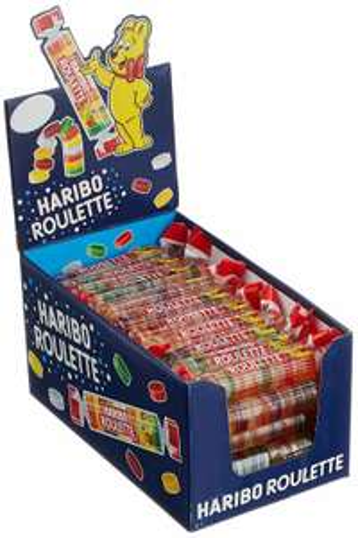 Haribo Roulette (50 Rollen) 1,25kg für 6,99€ inkl. Versand (Amazon Prime) | Wieder lieferbar!