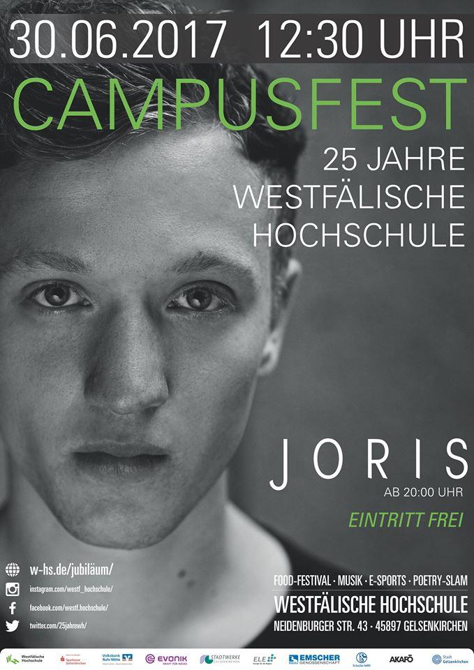 [lokal Gelsenkirchen] Joris live ab 20 Uhr - HEUTE !!! - Eintritt frei