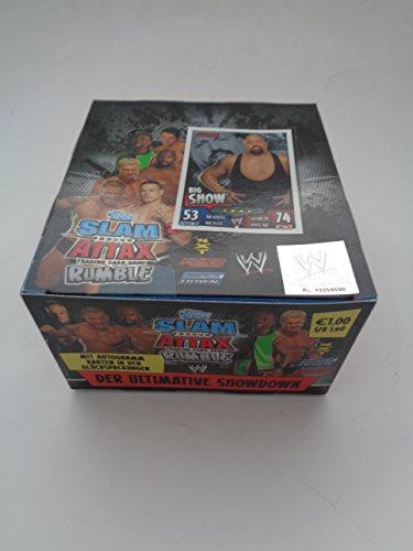 Amazon: WWE SLAM ATTAX RUMBLE 50 BOOSTER im DISPLAY 250 KARTEN - Nur 21,90 €