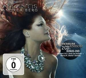 Amazon: Andrea Berg - Atlantis (Handsignierte limitierte Sammlerbox / exklusiv bei Amazon.de) [Box-Set, CD+DVD] NUR 11,97 €