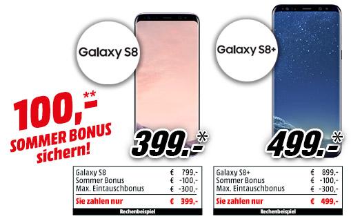 MediaMarkt Österreich Lokal (Samsung S8 Eintauschbonus) 399€