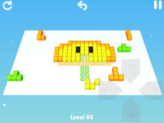[iOS]Cubes:Brain teaser - Puzzlespiel - kostenlos statt 2€