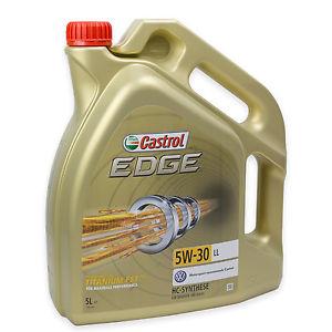 Castrol EDGE 15669E TITANIUM FST LL 5W-30 5 LITER @Ebay
