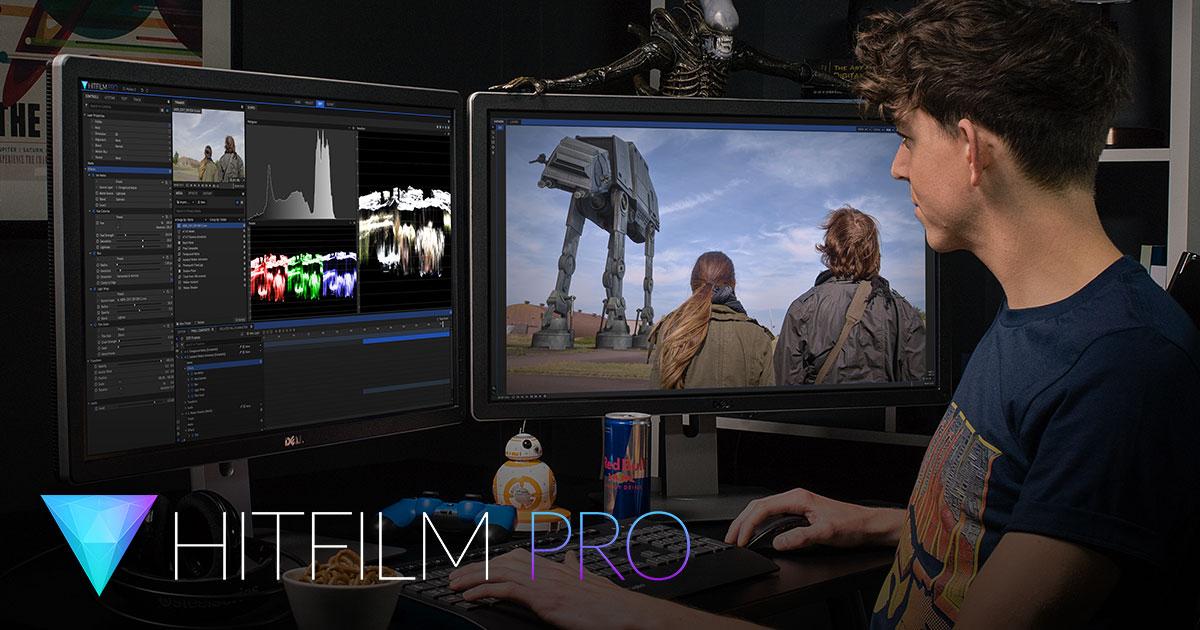 Hitfilm.com Compositing & Videoschnitt - 15% im Store bis 4.7.2017