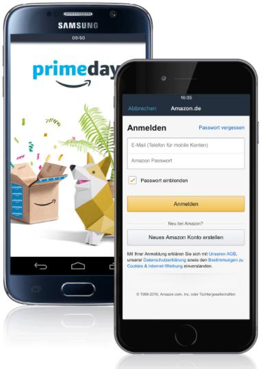 Amazon: 6€ Gutschein für erstmaligen Login in Amazon Shopping-App