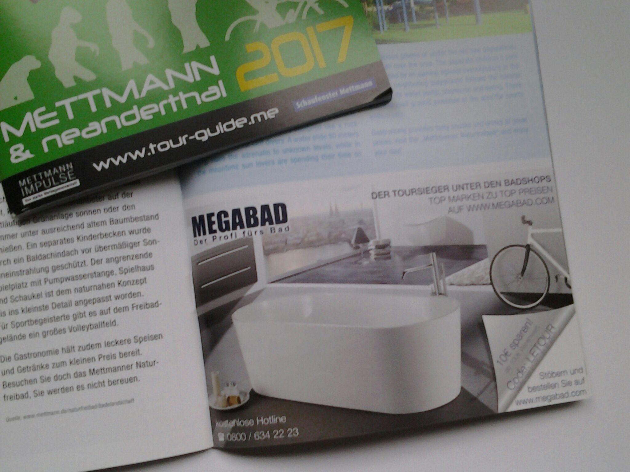 10€ Gutschein im Badshop MEGABAD
