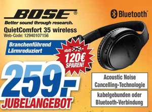 Bose QuietComfort 35 wireless / Lokal Villingen