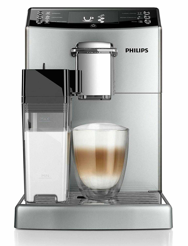 Philips EP4050/10 Kaffeevollautomat (CoffeeSwitch, Milchkaraffe, AquaClean) silber, amazon