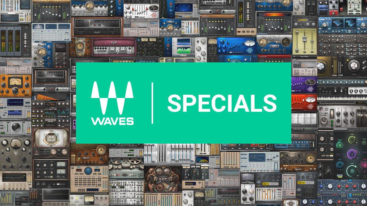 zahlreiche WAVES PlugIns im Sommerdeal z.B. H-Reverb für 25 statt 349,- (für Producer / Synthesizer / Mixdown / Studio)
