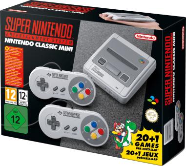 Nintendo Super Nintendo Entertainment Classic Mini für aktuell umgerechnet ca. 91,22 € (99,95 CHF, MediaMarkt Schweiz, für Grenzgänger)
