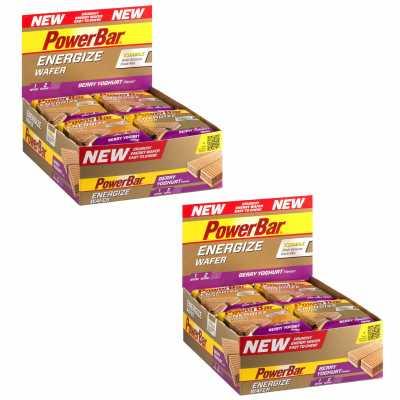 Powerbar Energize Wafer Riegel 2 Boxen (24 x 40 g) für 13,98 Euro  [Stadler]
